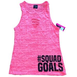 Material Girl Active #squadgoals Athletic Tank Top